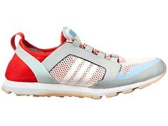 adidas by Stella McCartney Eulampis 2 Eggshell/Running White/FTW White/Box Red - Zappos Couture