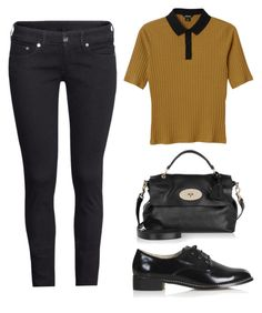 """""""Untitled #1497"""" by susannem ❤ liked on Polyvore featuring H&M, Monki, Topshop and Mulberry"""