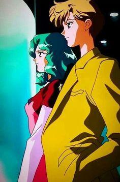 """""""Sailor Moon StarS"""" - Michiru Kaioh and Haruka Tenoh."""