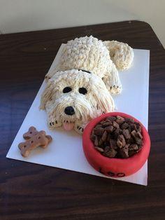 Puppy cake #DogCake