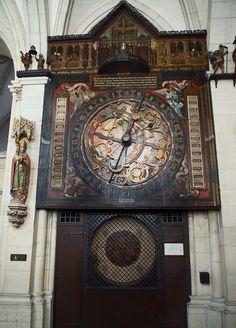 37 Münster St.Paulus Dom Astronomische Uhr kmpl - St.-Paulus-Dom (Münster) –…