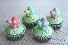 cute tortoise cup cakes