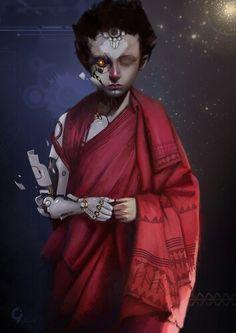 Cyber monk