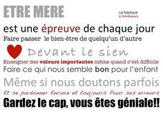 etre mere by La Fabrique à Bonheurs, via Flickr