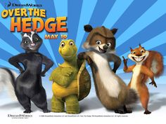 Over the Hedge - Description: Over the Hedge is a 2006 computer animated comedy film based on the characters from United Media comic strip of the same name.