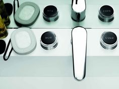 Savoy design Matteo Thun for Zucchetti Modern Bathroom Design, Modern Interior Design, Bathroom Designs, Bathroom Ideas, Bathroom Toilets, Bathrooms, Sink Taps, Faucets, Bathroom Hardware