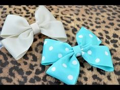 Easy DIY Hair Bow Tu
