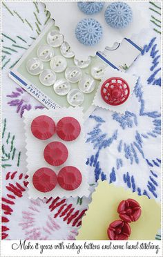 buttons vintage