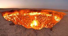 La porte de l'enfer, Turkménistan