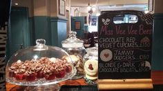 Miss Vee Vee Bee's baked delights - point of sale hand drawn sign