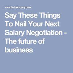 The  Commandments Of Salary Negotiation  Life Hacks