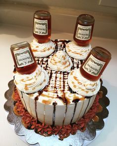 Butter Pecan Caramel Hennessy Cake My Cakes Hennessy