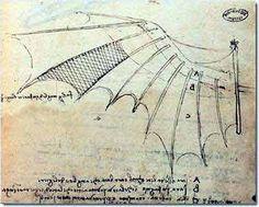 How to Build Mechanical Wings | leonardo da vinci bat wing with proportions