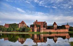 La construcción en ladrillo más grande: Castillo de Malbork en Europa