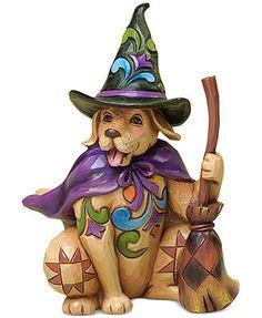 Jim Shore Collectible Figurine, Halloween Dog