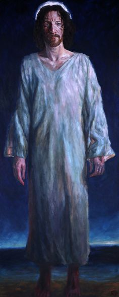 Rob Floyd Fine Art - Stations of the Resurrection, 9. Christ Appears at Gallilee