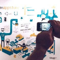 Live Scribing engages your audience. Smartup Visuals educates through live scribing at event. Valuable content must stay. Office Mural, Office Art, Wall Murals, Wall Art, Liverpool Street, Office Interior Design, Original Artwork, Presentation, Apps