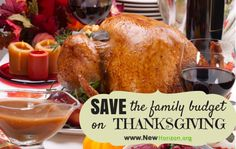 Save the Family Budget on Thanksgiving by www.newhorizon.org