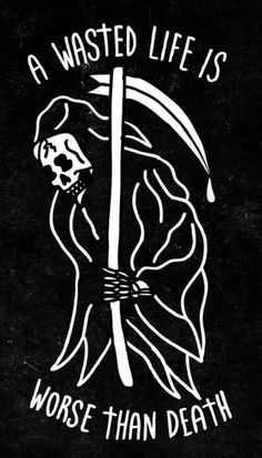 Grim reaper I've wasted my whole entire life so come and get me please. Tattoo Drawings, Art Drawings, Neue Tattoos, Skeleton Art, Future Tattoos, Skull Art, Dark Art, Tattoo Inspiration, Trippy
