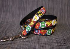 Superhero Dog Lead - Aussie Made Leash - For Small to Large Dogs by TopPetz on Etsy