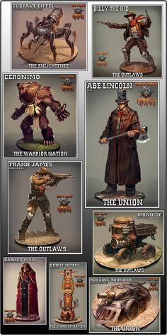 Wild West Exodus - Sci-Fi Western Miniatures Game by Outlaw Miniatures, LLC — Kickstarter