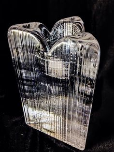 Vintage iittala Modern Kosta Boda Crystal Skyline Anna Ehrner Candle Holder Kosta Boda, Bodo, Grey Glass, Skyline, Candlesticks, Candle Holders, Pottery, Crystals, Sweden
