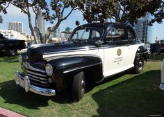 1000 images about vintage police vehicles on pinterest for California department of motor vehicles san diego ca