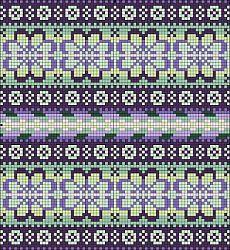 Stitch Fiddle is an online crochet, knitting and cross stitch pattern maker. Fair Isle Knitting Patterns, Knitting Charts, Loom Knitting, Knitting Stitches, Knitting Designs, Free Knitting, Motif Fair Isle, Fair Isle Chart, Fair Isle Pattern