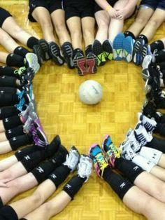 Cdms volleyball team(: it seems like forever ago:))