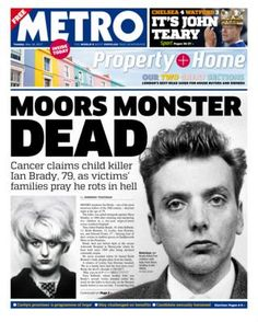 Metro front page - 16/05/17