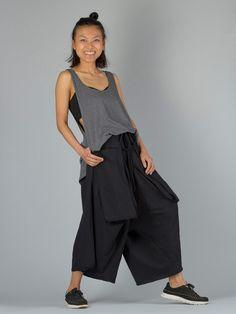 35ac7b505d3 Wide Leg Harem Pants with Giant Pockets
