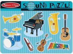 Melissa & Doug Puzzle Instrumenty Muzyczne 10732 - Ceny i opinie - Ceneo.pl