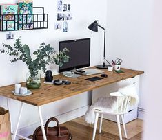 Setting up home office: 5 tips for an orderly workspace at home The post Set up home office appeared first on Woman Casual. Home Office Setup, Home Office Chairs, Home Office Organization, Home Office Design, Home Office Furniture, Office Workspace, Office Ideas, Home Office Inspiration, Workspace Inspiration