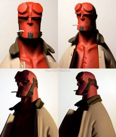 TOYSREVIL: Revealed: 1/6 Hellboy Mignola french resin statue from Fariboles…