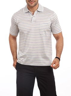 Simple yet stunning this cool and breathable T shirt is manufactured from 2/60S Giza cotton. This polo neck T shirt has two openable buttons near the collar which keeps you cool. Consider wearing this T shirt on a regular basis since it offers comfort. Perfect for all the casual outings it can be worn to office too. If you wish to look extravagant then wear it on a brown pair of chinos and sneakers. This collar neck T shirt offers a semi-formal look. For all the young men who wish to look… Formal Looks, Polo Neck, Giza, Young Men, Keep Your Cool, Neck T Shirt, That Look, Buttons, Brown