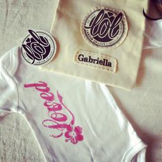 Specialising in personalised Onesies and T's for babies and children.  www.labouroflove.co.za