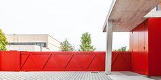 Gianluca Gelmini — Nuovo ingresso complesso industriale