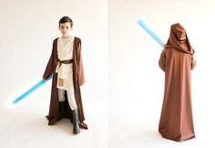 How to Make an Obi-Wan Costume for Kids