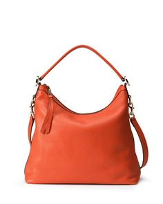 Miss GG Small Hobo Bag, Dark Orange by Gucci at Neiman Marcus.
