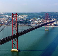 Top 5 most beautiful views of Lisbon . Places In Portugal, Visit Portugal, Spain And Portugal, Portugal Travel, Algarve, Belem, Travel Around The World, Around The Worlds, Maldives Honeymoon