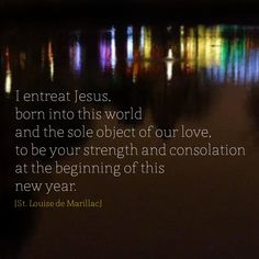 [St. Louise de Marillac] #DaughtersofCharity #NewYear