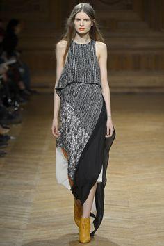 Christian Wijnants #Dress #Pattern #Back #White #Patchwork #Fashion