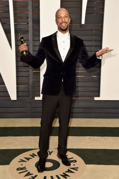 Common. See what all the stars wore to the Academy Awards' biggest after party.