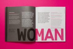 Alphabetical designs gender equality report for HeforShe.