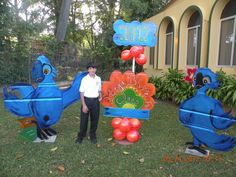 Decorative Blue  Rio movie