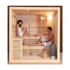 Traditional Sauna room Finnish saunas with Harvia sauna heater for house designs wooden house Sauna Diy, Sauna Infrarouge, Sauna Hammam, Sauna Heater, Steam Room Shower, Sauna Steam Room, Sauna Room, Home Spa Room, Spa Rooms