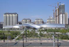 MAD Architects, China Wood Sculpture Museum, Harbin, China, Peking, Museum, Blob, Aluminium-Fassade, Bauen für Despoten, Asien, Gehry Technolgogies
