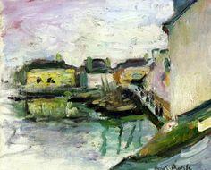 The Port of Palais, Belle Ile - Henri Matisse…