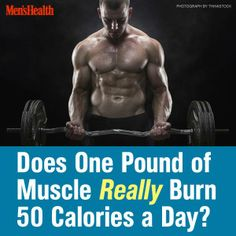 You hear it all the time. It must be true, right? #muscle #calories http://www.menshealth.com/fitness/biggest-muscle-myth-exposed