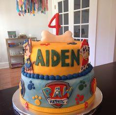 Paw Patrol Cake #pawpatrol #birthday #cake